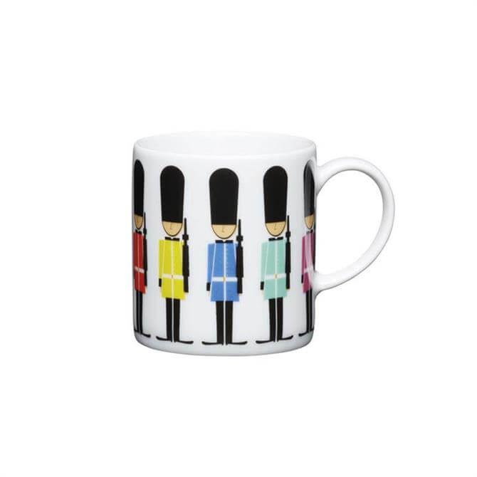 Kitchen Craft Porcelain Soldier 80ml Espresso Cup