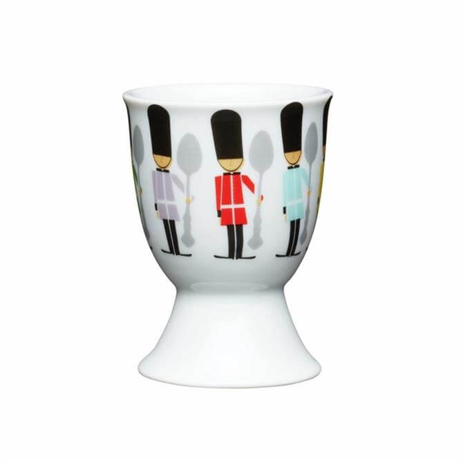 Kitchen Craft Porcelain Egg Cup: Soldiers