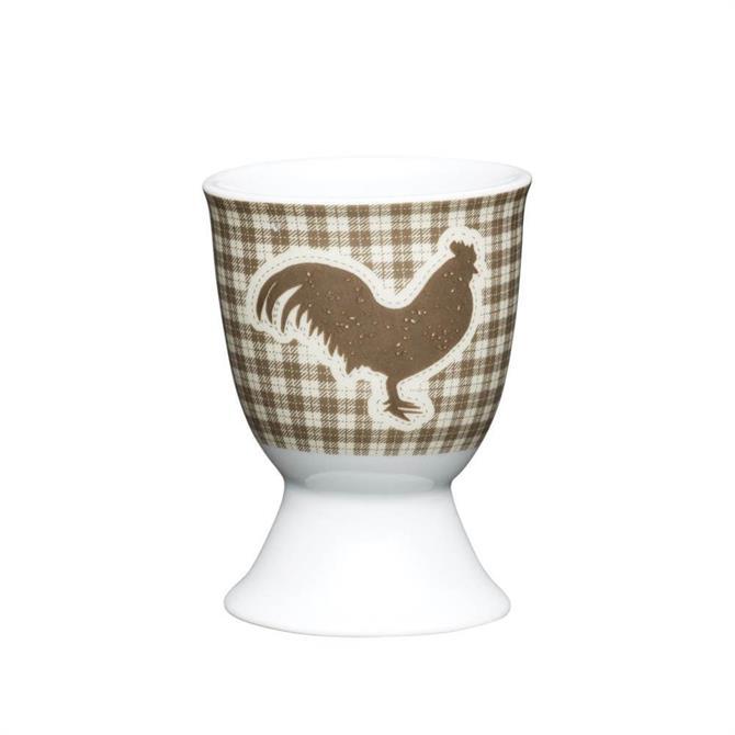 Kitchen Craft Porcelain Egg Cup: Textured Hen