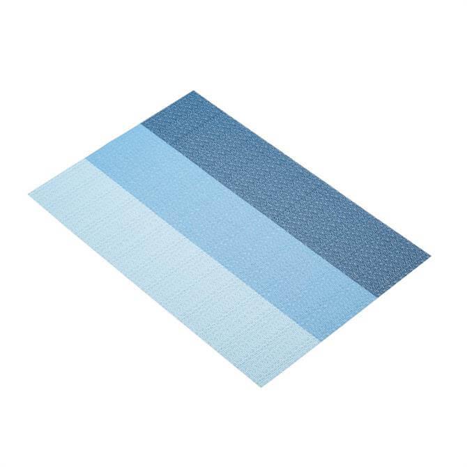Kitchen Craft Blue Stripes Woven Placemat