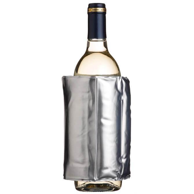 Kitchen Craft Bar Craft Wrap Around Silver Wine Cooler With Velcro Fastenings
