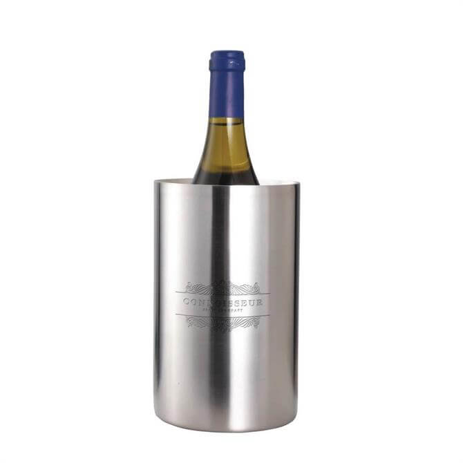 Kitchen Craft Connoisseur Stainless Steel Double Walled Wine Cooler
