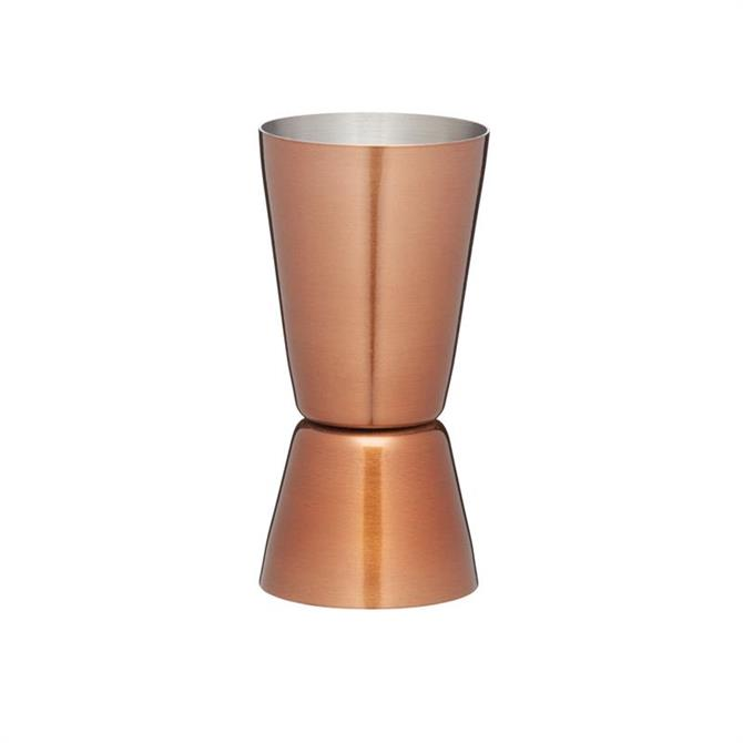 BarCraft Multi Measure Copper Cocktail Jigger