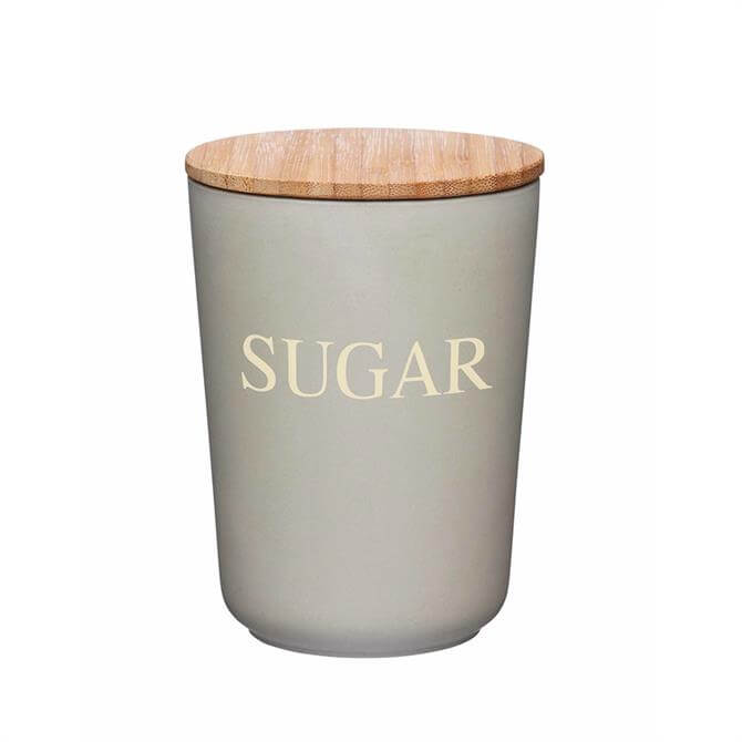 Natural Elements Bamboo Fibre Sugar/Coffee/Tea Canister