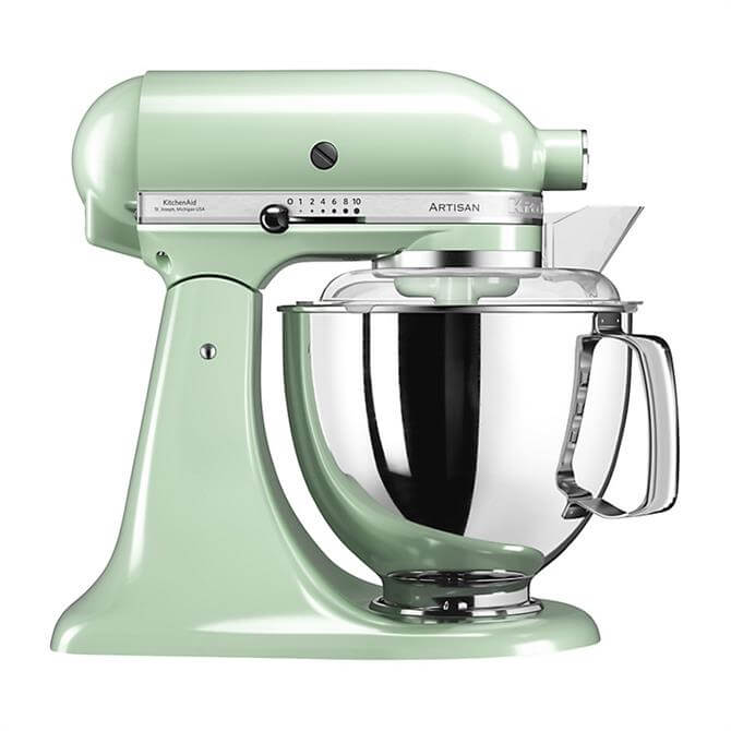 KitchenAid Artisan 175 Stand Mixer Pistachio - Redeem Free Glass Bowl Worth £85 With Purchase