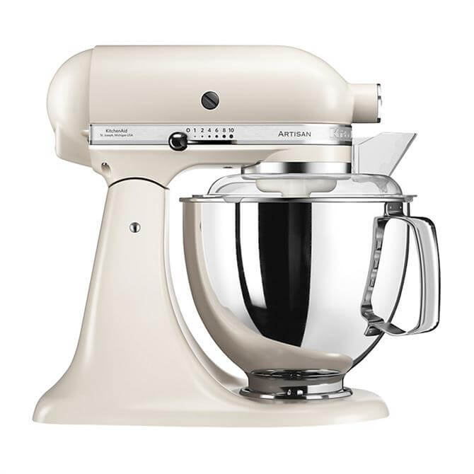 KitchenAid Artisan 175 Stand Mixer Cafe Latte - Redeem Free Glass Bowl Worth £85 With Purchase