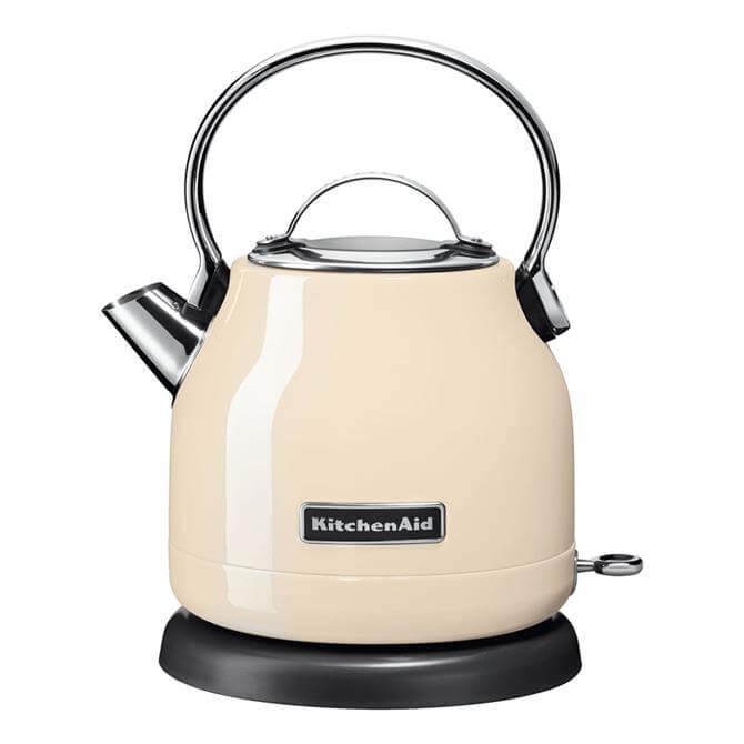 KitchenAid 1.25 Litre Dome Kettle: Cream
