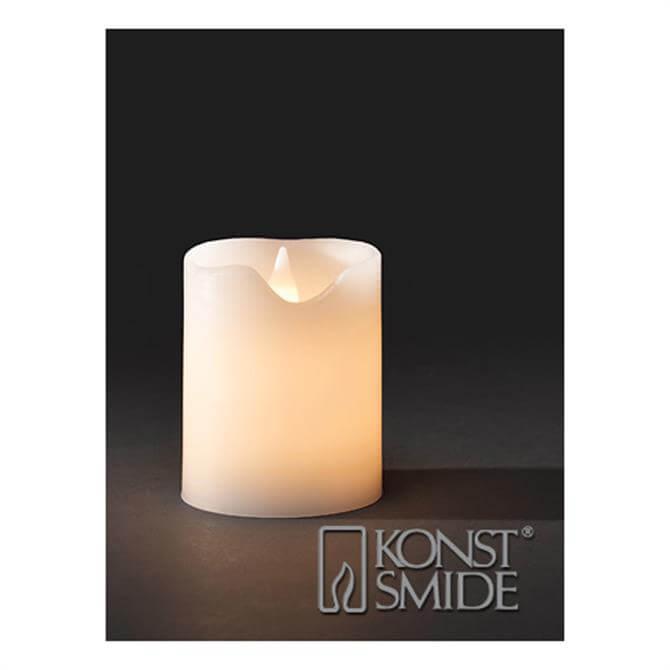 Konst White LED Candle
