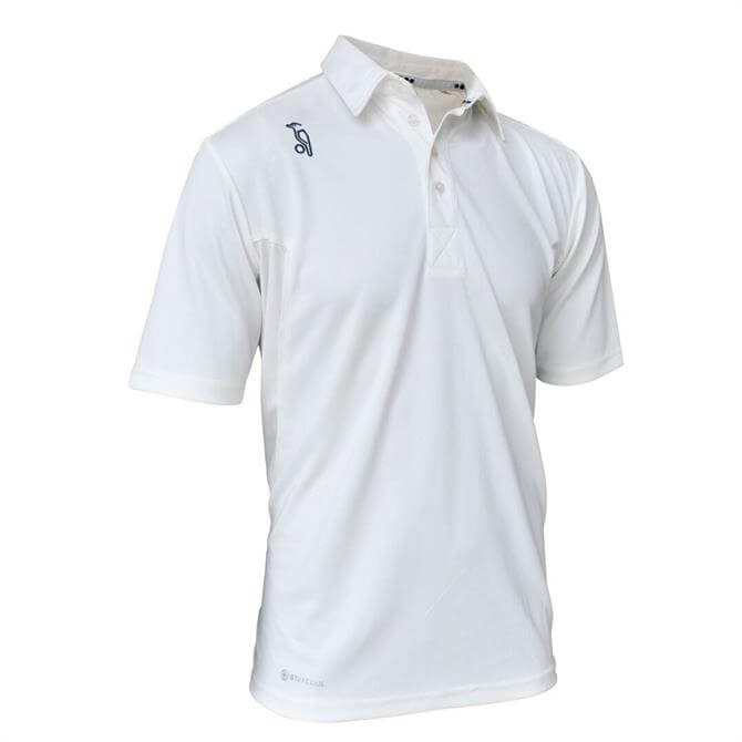 Kookaburra Kid's Pro Player Short Sleeve Cricket Shirt