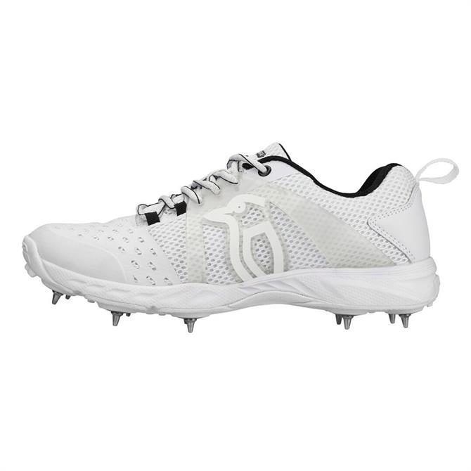 Kookaburra Kid's KCS 2000 Spike Cricket Shoes- White
