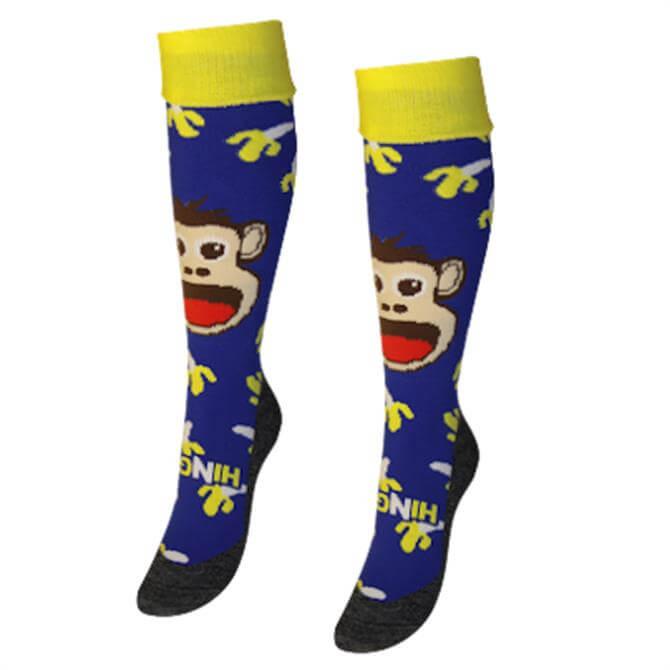 Hingly Monkey Hockey Socks