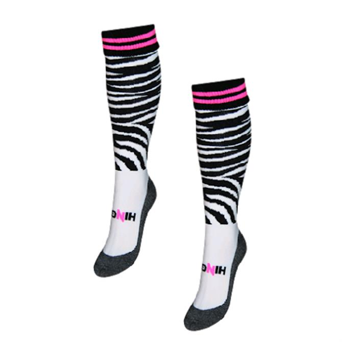 Hingly Zebra Hockey Socks