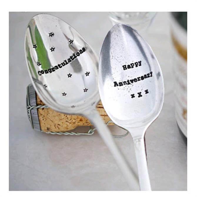 La de da! Silver Plated Dessert Spoons