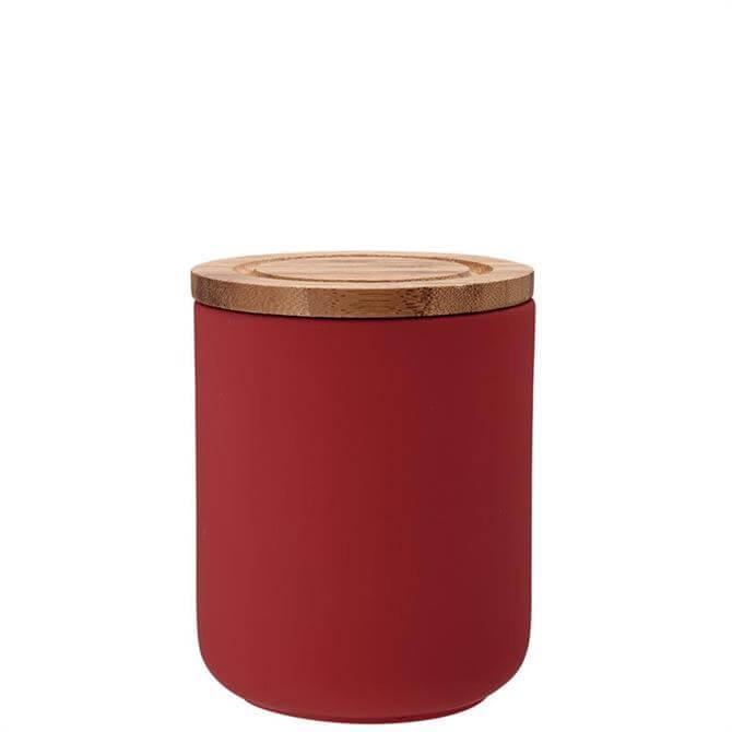 Ladelle Red Stak Soft Matt Cannister 13cm