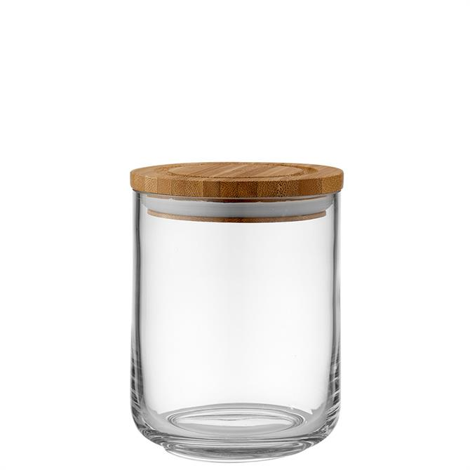 Ladelle Stak Clear Glass 13cm Cannister