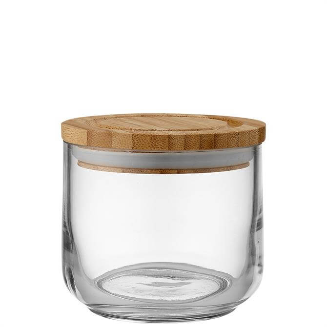 Ladelle Stak Clear Glass 9cm Cannister