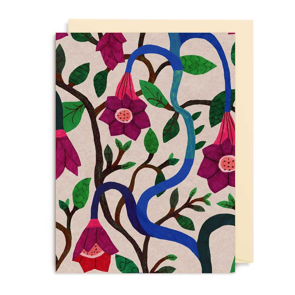 An image of Lagom Monika Forsberg Mini Card - 4173