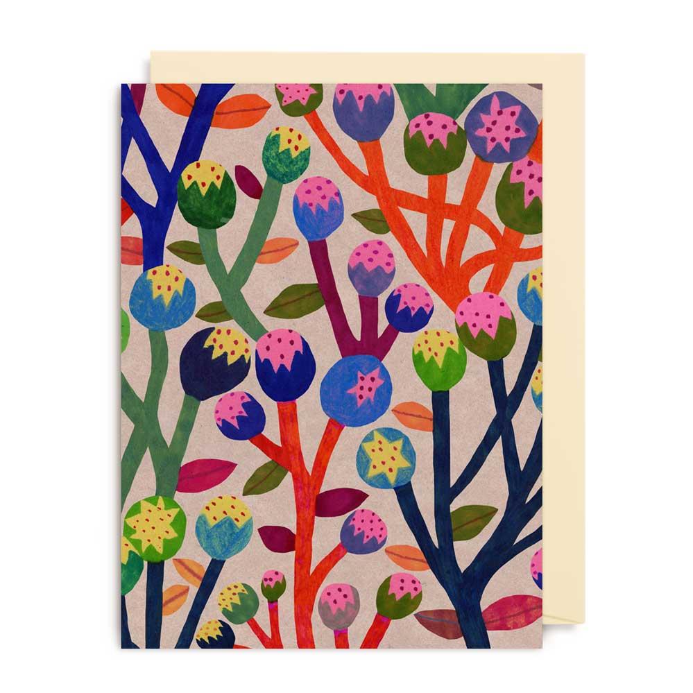 An image of Lagom Monika Forsberg Mini Card - 4172