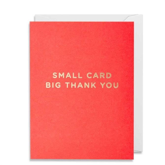 Lagom Thank You Mini Card