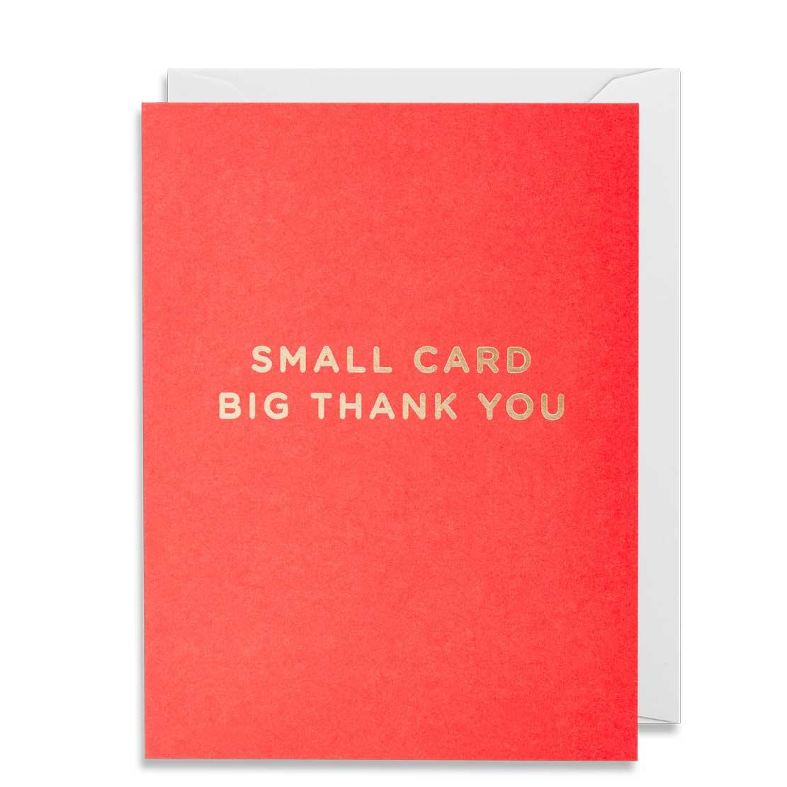 An image of Lagom Thank You Mini Card - 4280