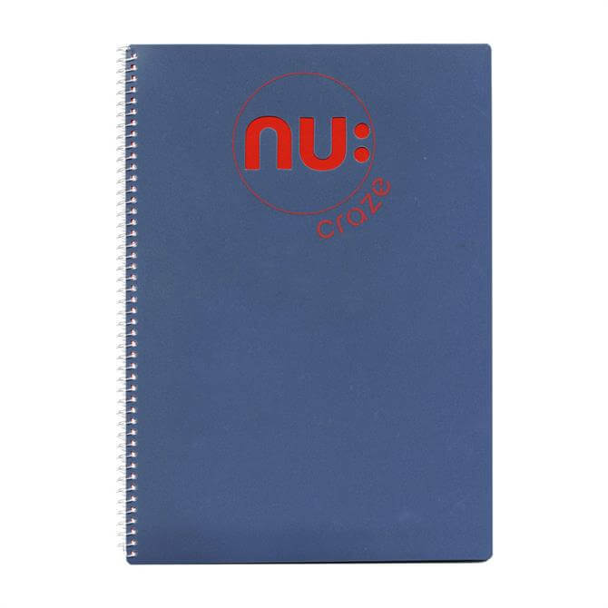 NU Craze Notebook A4 - Assorted