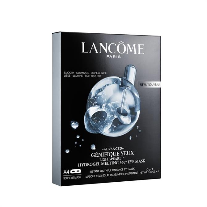 Lancôme Advanced Génifique Yeux Light Pearl Hydrogel Melting 360 Eye Mask x4 Pack
