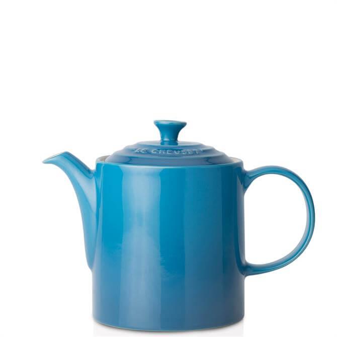 Le Creuset Marseille Blue Stoneware Grand Teapot 1.3L