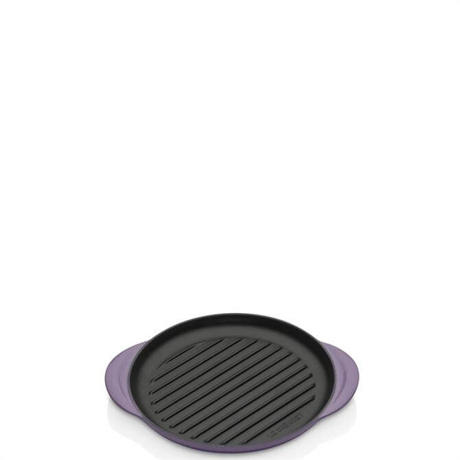 Le Creuset Ultra Violet Cast Iron Classic Round Grill 25cm