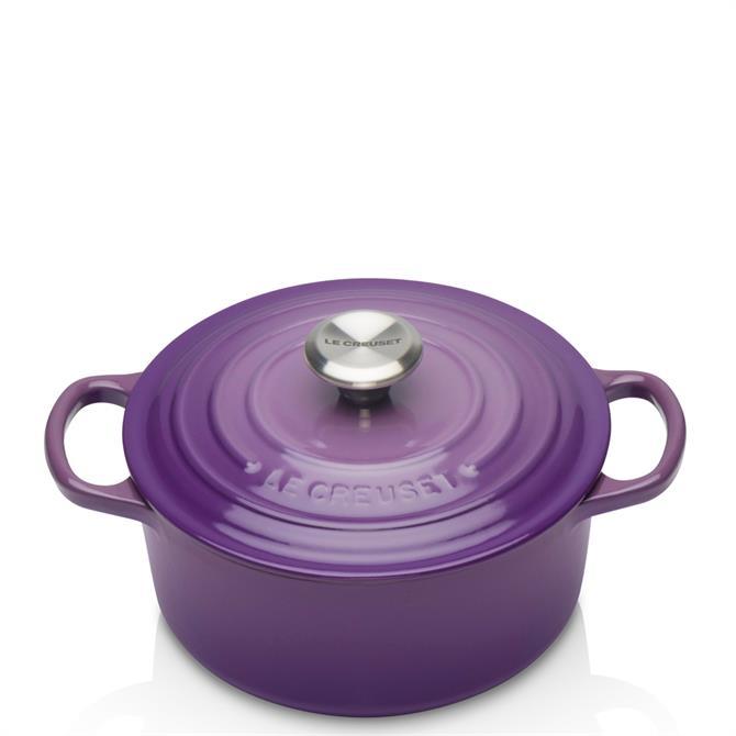 Le Creuset Signature Ultra Violet Cast Iron Round Casserole 18cm