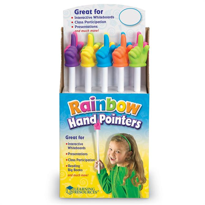 Rainbow Hand Pointers (only one supplied)
