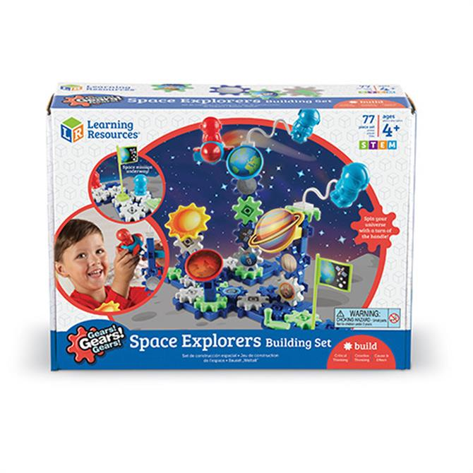 Learning Resources Gears Space Explorers Set