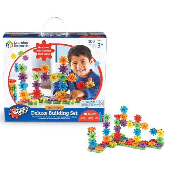 Learning Resources Gears Gears Gears Deluxe Building Set