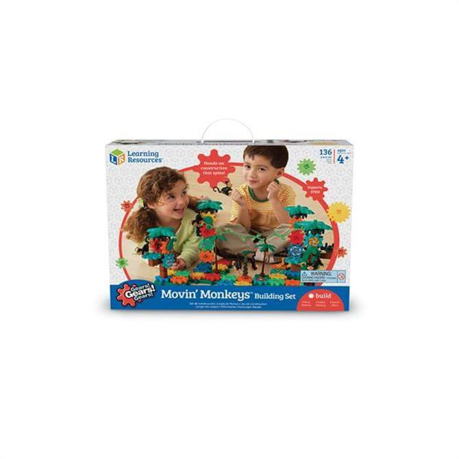 Learning Resources Gears! Movin' Monkeys Building Set