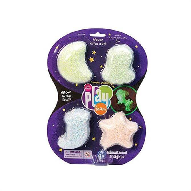 Learning Resources Playfoam Glow-in-the Dark 4 Pack