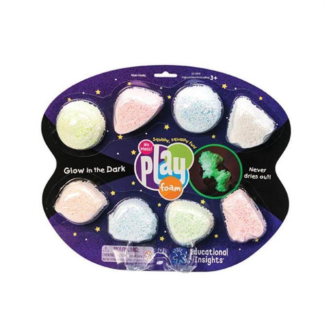 Learning Resources Playfoam Glow-in-the-Dark 8 Pack