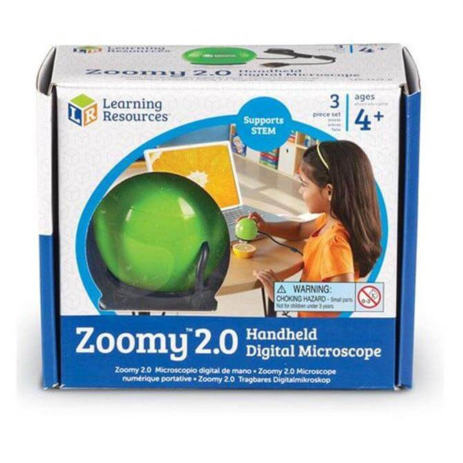 Learning Resources Zoomy 2.0 Handheld Digital Microscope