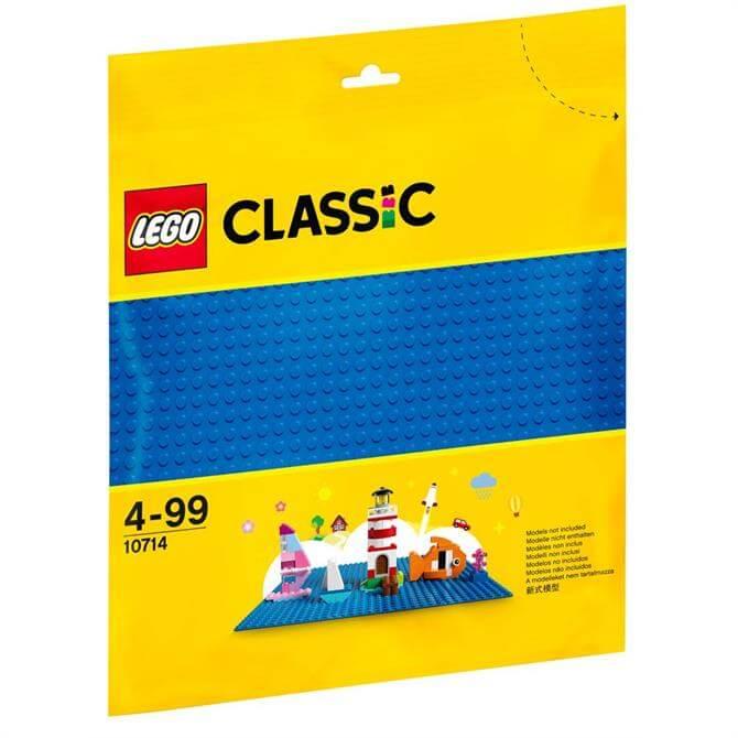 Lego Bricks & More Blue Baseplate 10714