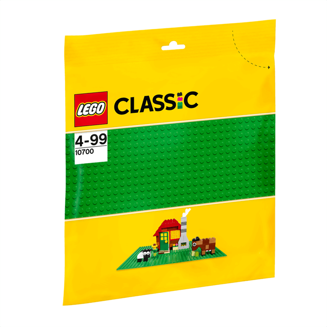 Lego Bricks and More Green Baseplate 10700