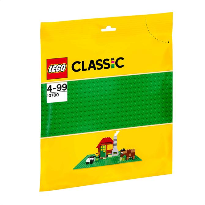 Lego Bricks and More Green Baseplate 10700