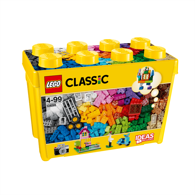 Lego Bricks and More Large Creative Brick Box 10698