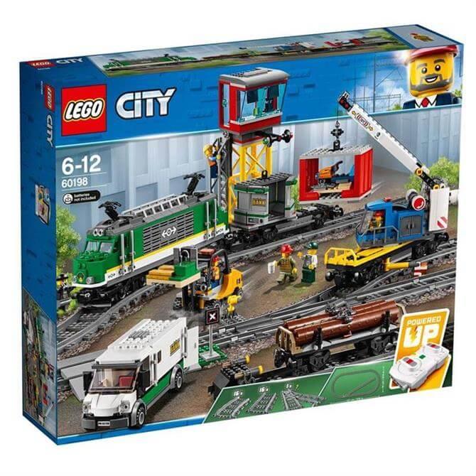 Lego City Cargo Train Set 60198