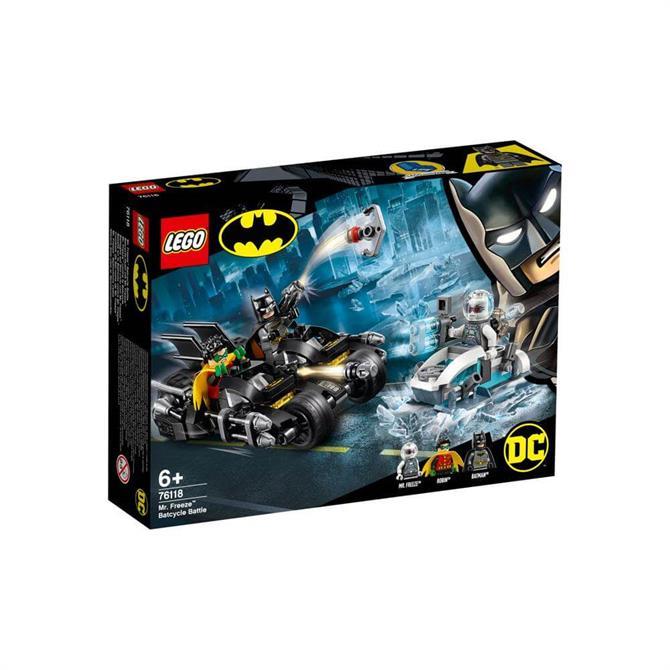 Lego Mr. Freeze Batcycle Battle 76118
