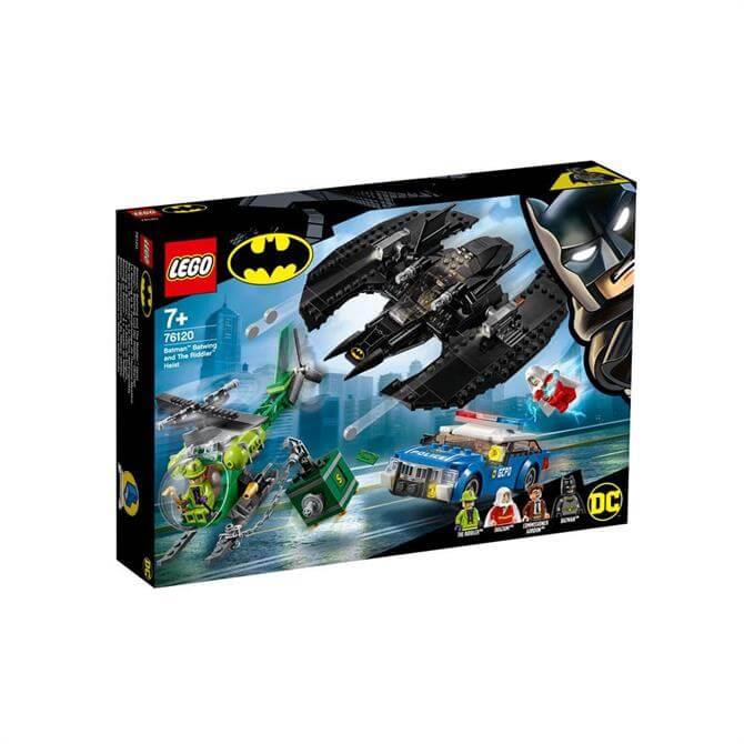 Lego Batman Batwing and The Riddler Heist 76120