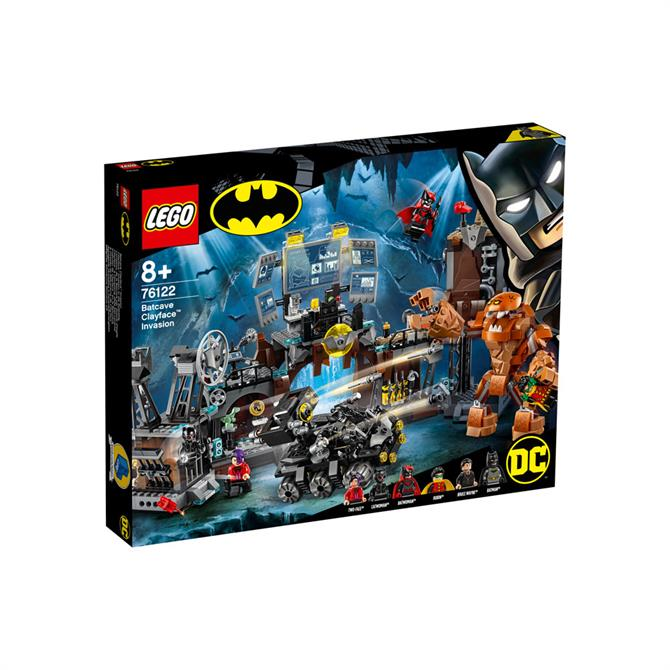 Lego Batcave Clayface Invasion 76122