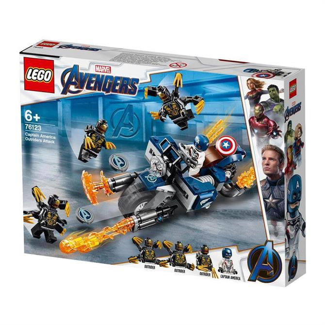 Lego Avengers Captain America: Outriders Attack 76123