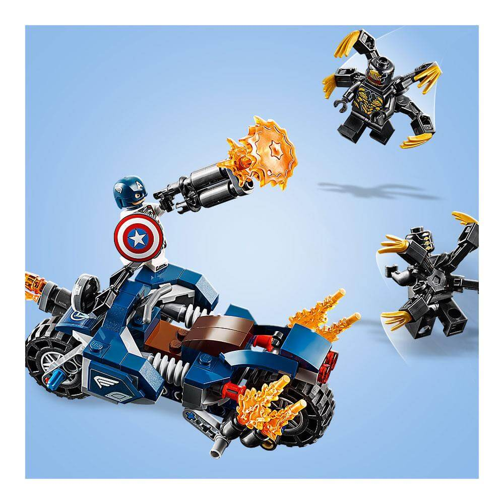 Lego Avengers Captain America: Outriders Attack 76123 ...