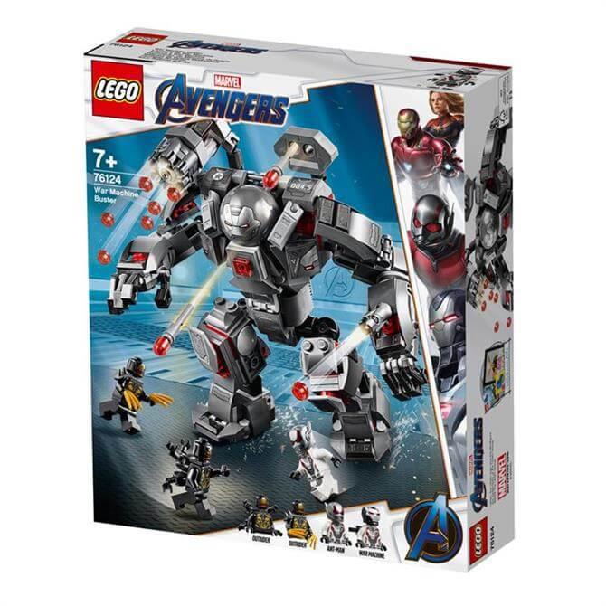 Lego Avengers War Machine Buster 76124