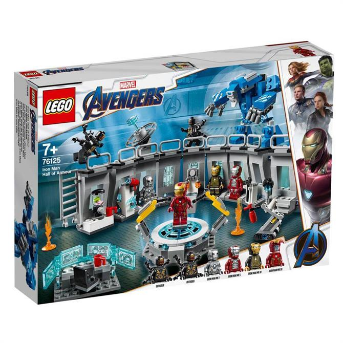 Lego Avengers Iron Man Hall of Armour 76125