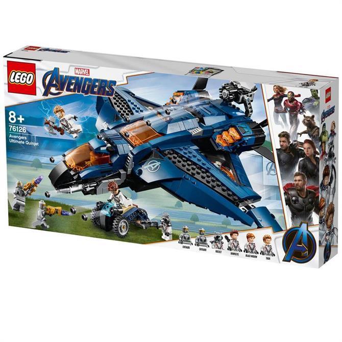 Lego Avengers Ultimate Quinjet 76126