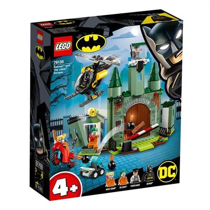 Lego Batman and The Joker Escape 76138